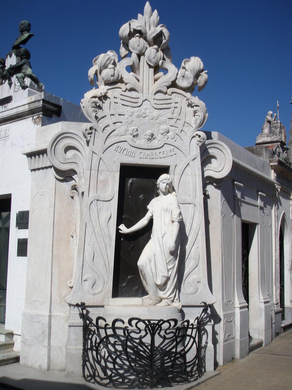 Buenos Aires, La Recoleta Cemetery.