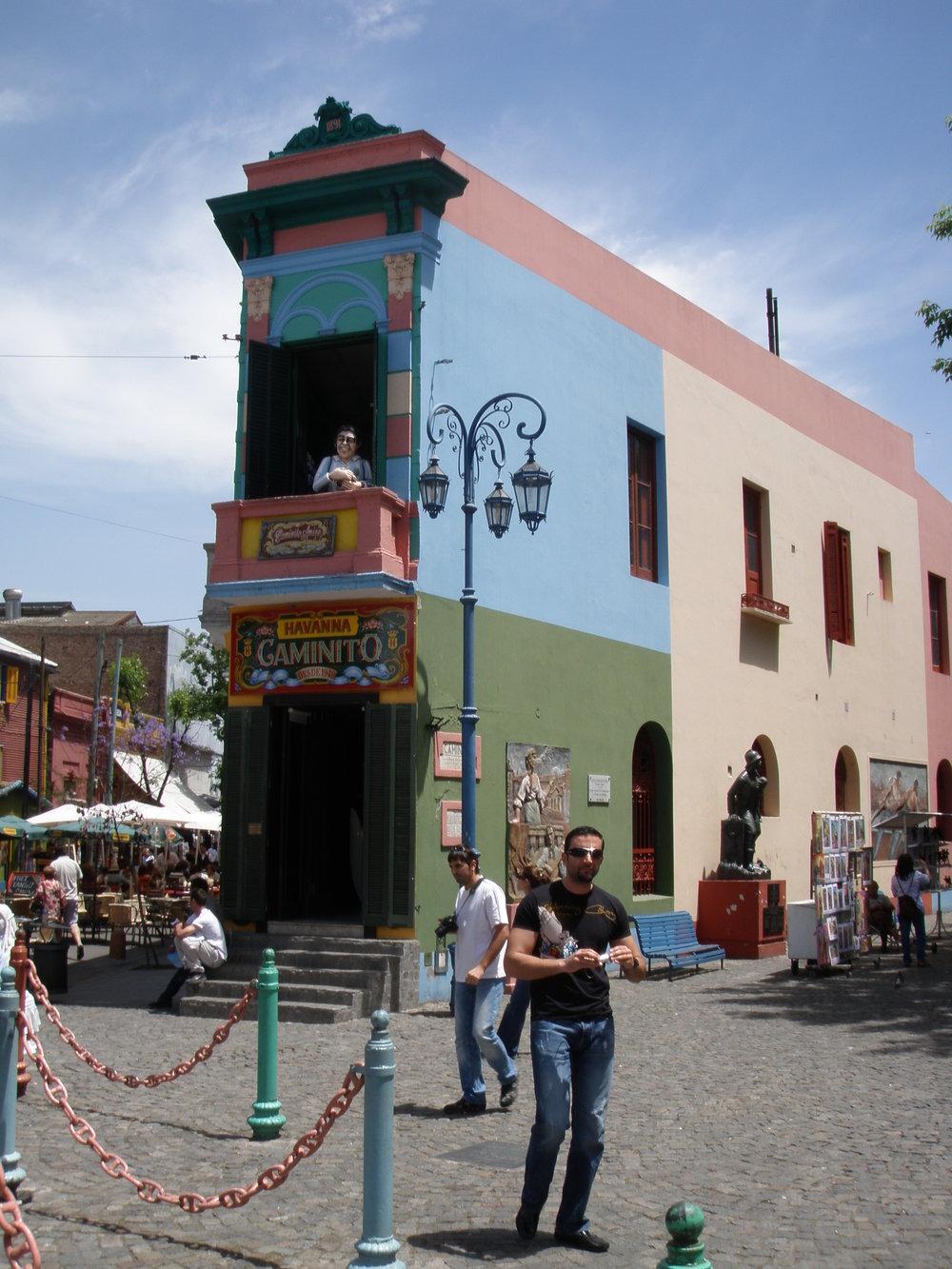 Buenos Aires. La Boca district.