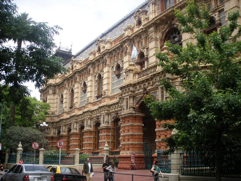 Palacio de Aguas Corrientes, a plumbing museum in Buenos Aires.
