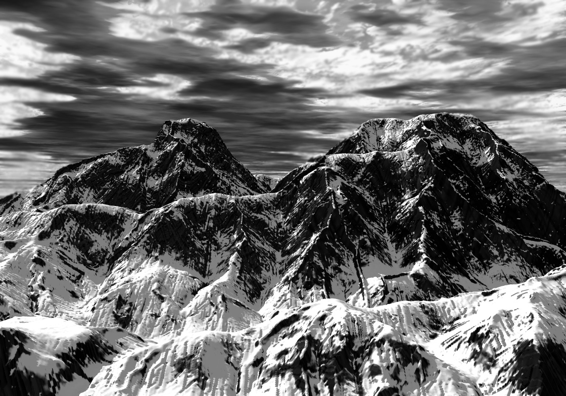 Ansel-Adams-Mountains