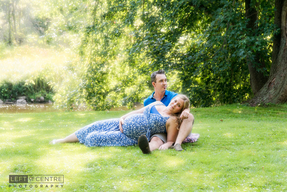 maternity couples portrait Terra Cotta