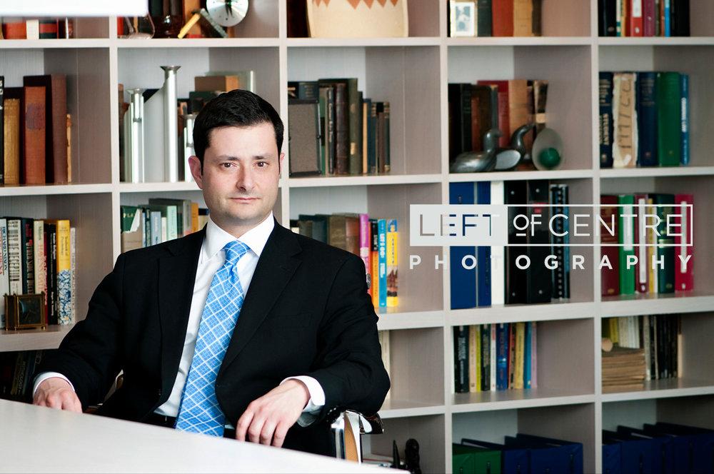 Toronto lawyer portrait