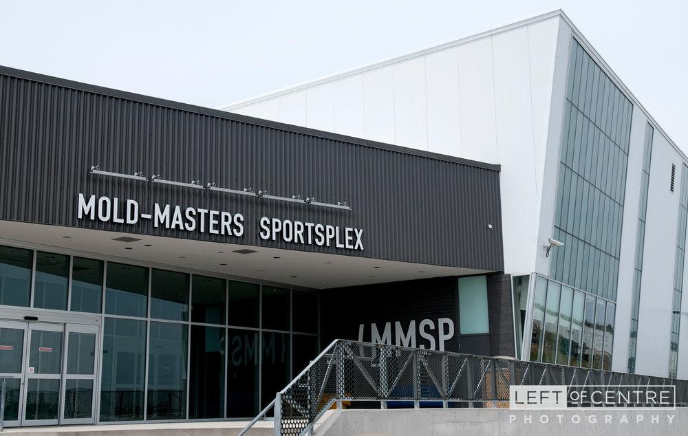 Mold-Masters Sportsplex exterior
