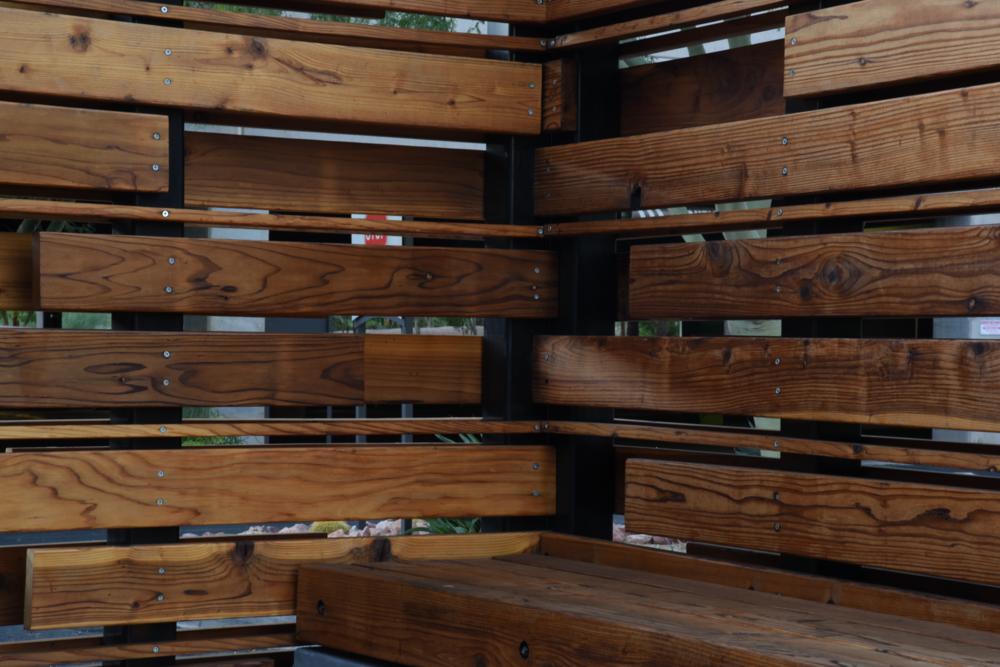 Wood Wall Detail