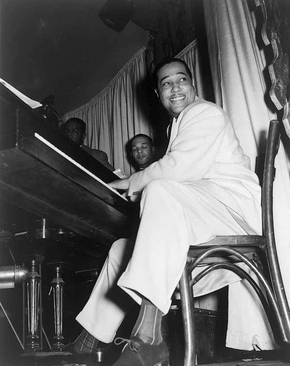 Duke Ellington in 1943.  Wikimedia Commons