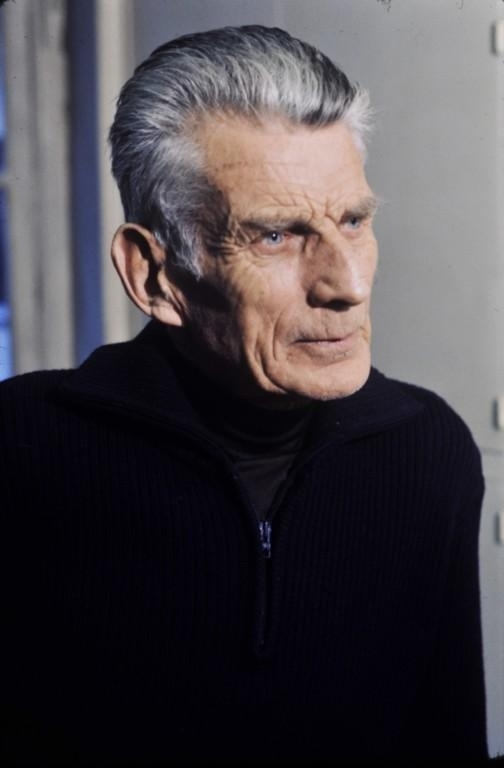 Samuel Beckett.  Wikimedia Commons
