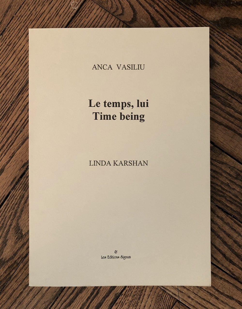 2000 - Karshan - Time being.jpg