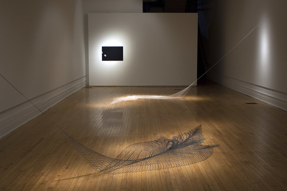 an inventory of moons   , 2017 exhibition view   1708 Gallery , Richmond VA