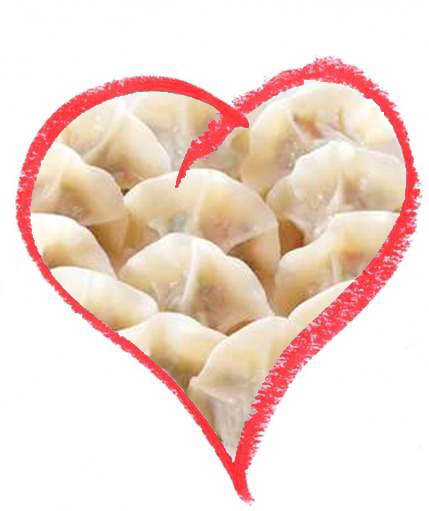 We love you dumplings! Today and every day.   - Lisa  and  Lynn