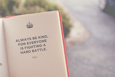 How can we be kinder to each other, and ourselves?
