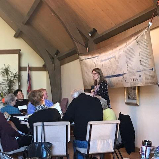 Carol taught CASKET at Santa Ynez Valley Presbyterian Church in California in February and really enjoyed sharing God's word among such a great group of people. Thank you to Santa Ynez Presbyterian for the opportunity to come and teach!