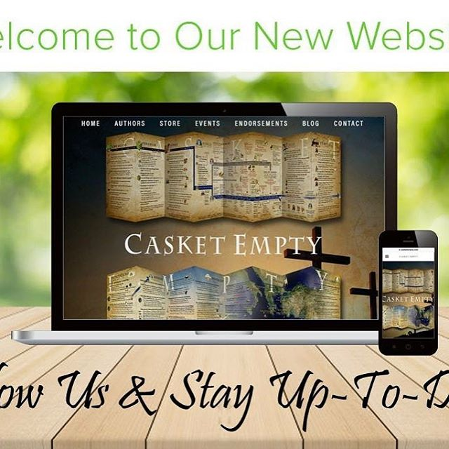 We are so excited to share that our new website has launched! The mission of Casket Empty is to help people understand the Bible and to equip them to teach others.  Casket Empty materials are now available in English, Korean, Chinese, and Arabic! https://www.casketempty.com/