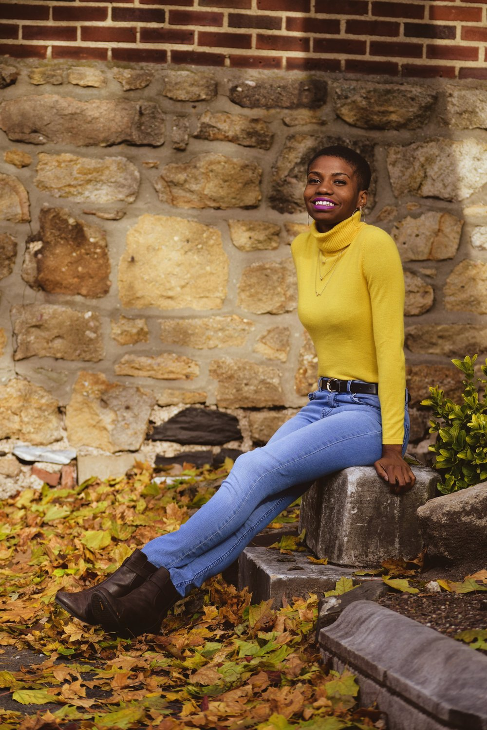 Be the reason someone smile's today ---------------------------------------------- Sweater: Lord and Taylor (Thrifted) from Clothes Mentor Jeans: Forever 21 Photo: Lauren Herwig