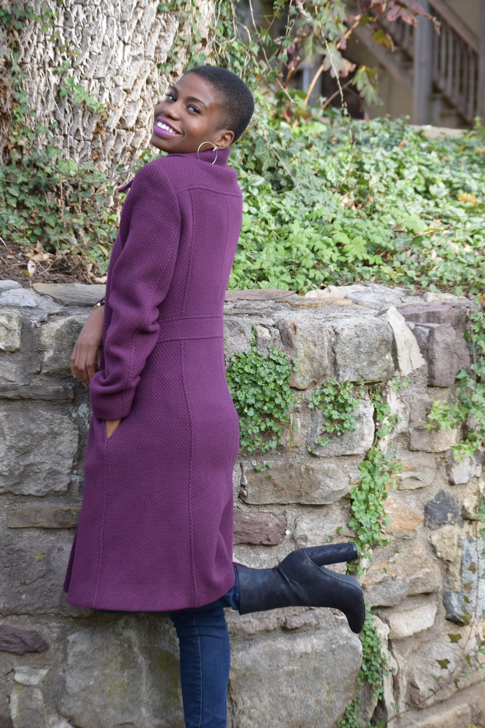 Being yourself never goes out of style ---------------------------------------------- Coat: Marcinao for Guess (Thrifted) From Clothes Mentor Shoes: Cape Robbin (Thrifted) from Plato's Closet Photo: Lauren Herwig