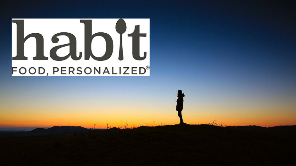 Habit - -Does nutrition reports based on DNA results -Has an app with personalized nutrient recommendations-Coaching is available