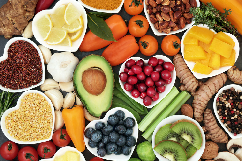 Healing Diets - There is a very LONG list of healing diets out there based on individual needs....