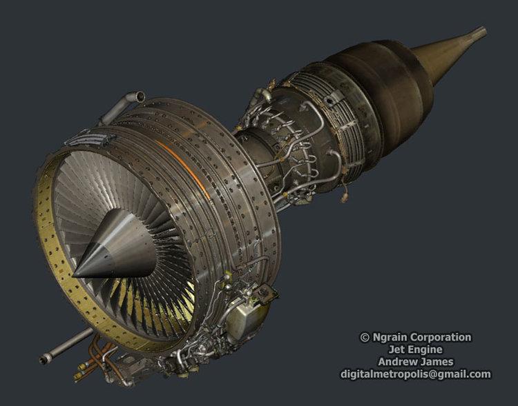 Military Jet Engine