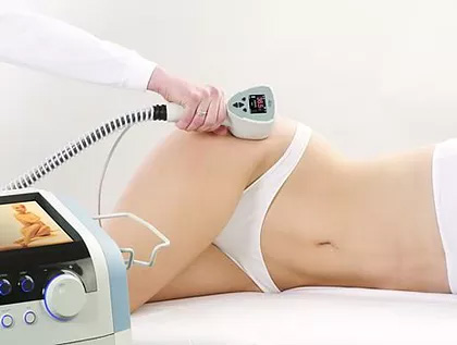 Exilis - FDA approved device used to treat wrinkles and to tighten the skin. It also helps to dissolve fat from unwanted deposits, which is then excreted through the lymphatics. It helps to reduce cellulite with its radio frequency energy capabilities.