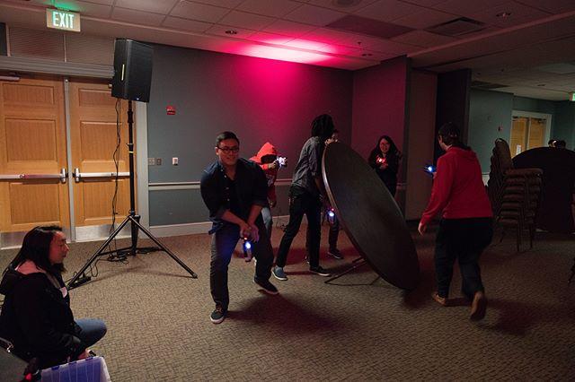 More scenes from our laser tag night last week! #klesisumd