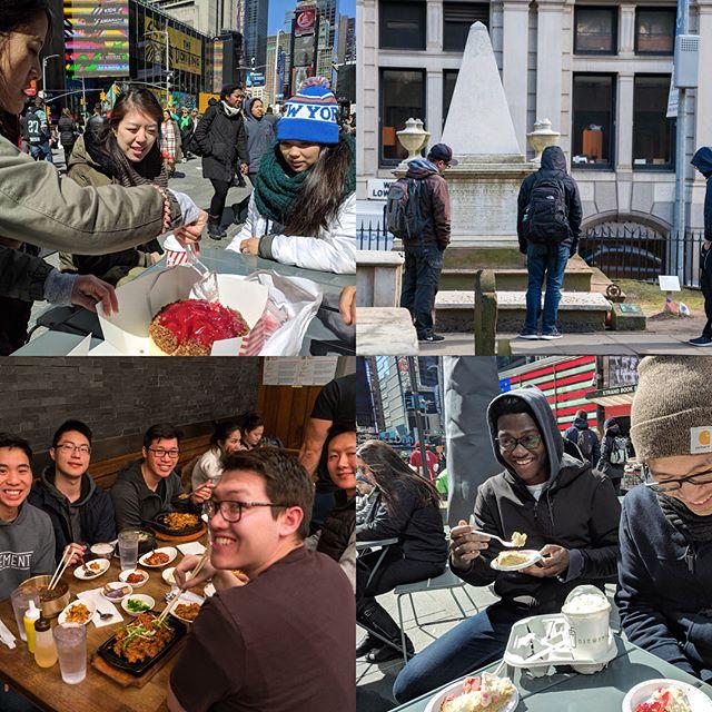 Recap of our New York trip last spring break! #somuchfood #nyctrip #klesisumd