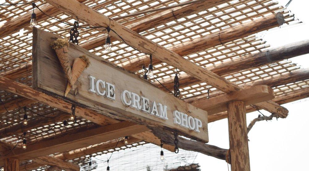 coombs market ice cream shop