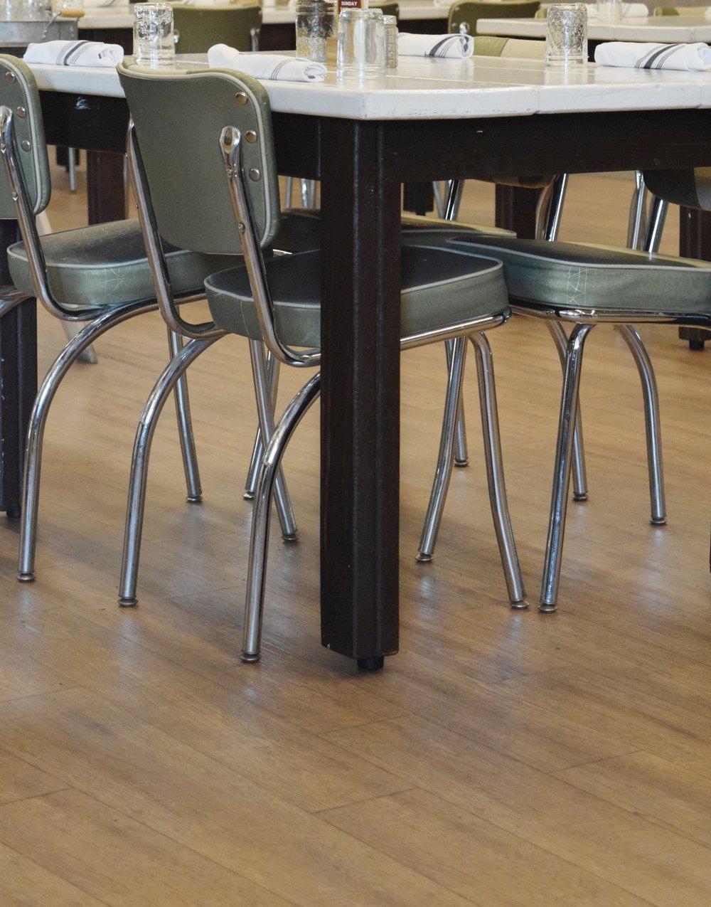 Mudhen interior decor and seating