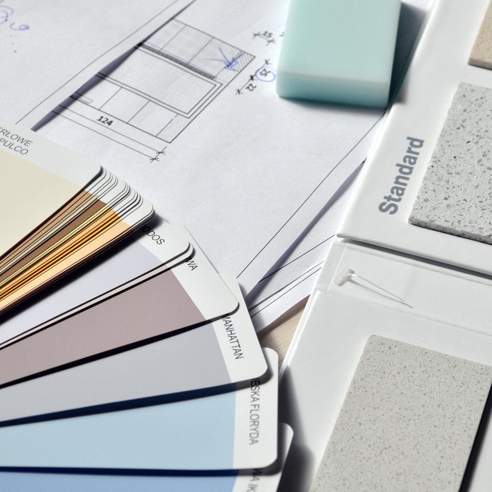 Paint-tile-samples-custom-bathrooms