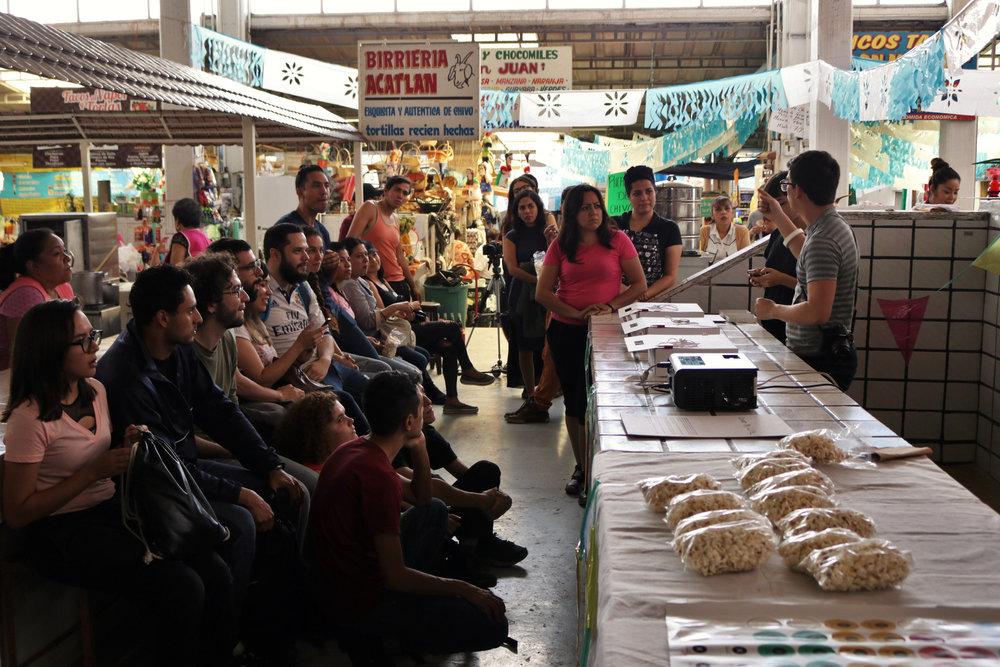 Presentación Artes Vivas Mercado Adrian Puga