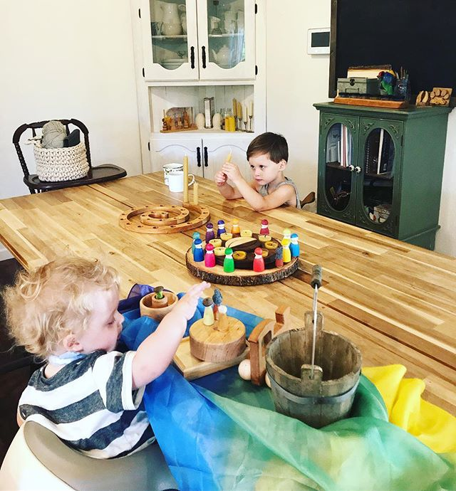 Rolling beeswax candles + imaginative play- everyone working on there own stations this morning🌿It is Tuesday- our kitchen day we will be in the kitchen most of the morning making some staples for the week and trying our hands at making bread🌾 . . . #wildandfreechildren #childhoodunplugged #magicofchildhood #homeschool #momofboys #boymom #theplayfulpioneers #nothingisordinary #letthembelittle #vsco #littleandbrave #slowliving #flashesofdelight #photographer #photography #momlife #motherhood #vscocam #instagood #bestofvsco #unschooling #thatsdarling #spinabifida #specialneeds #letthekids #waldorf #waldorfhomeschool