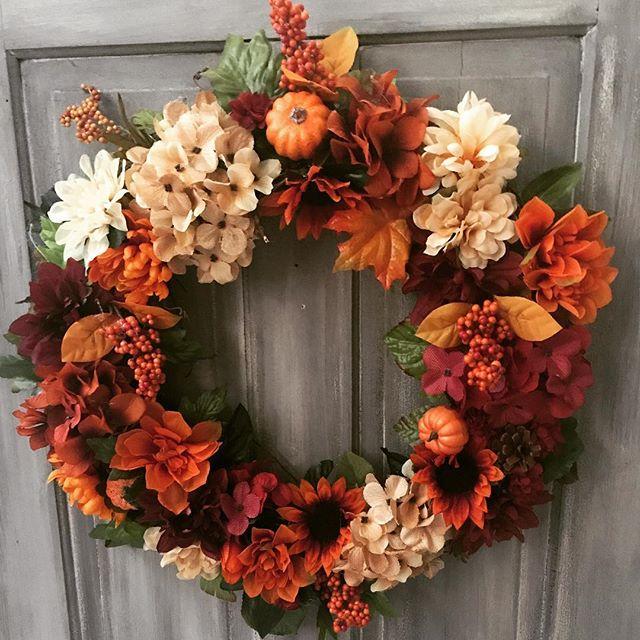 Can't believe it's #fall already!!  Wreath