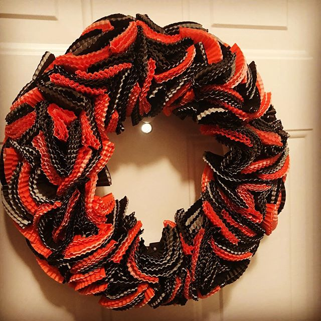 Such a fun #wreath to make!