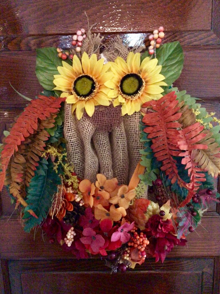 Fall-Halloween-Thanksgiving Wreath