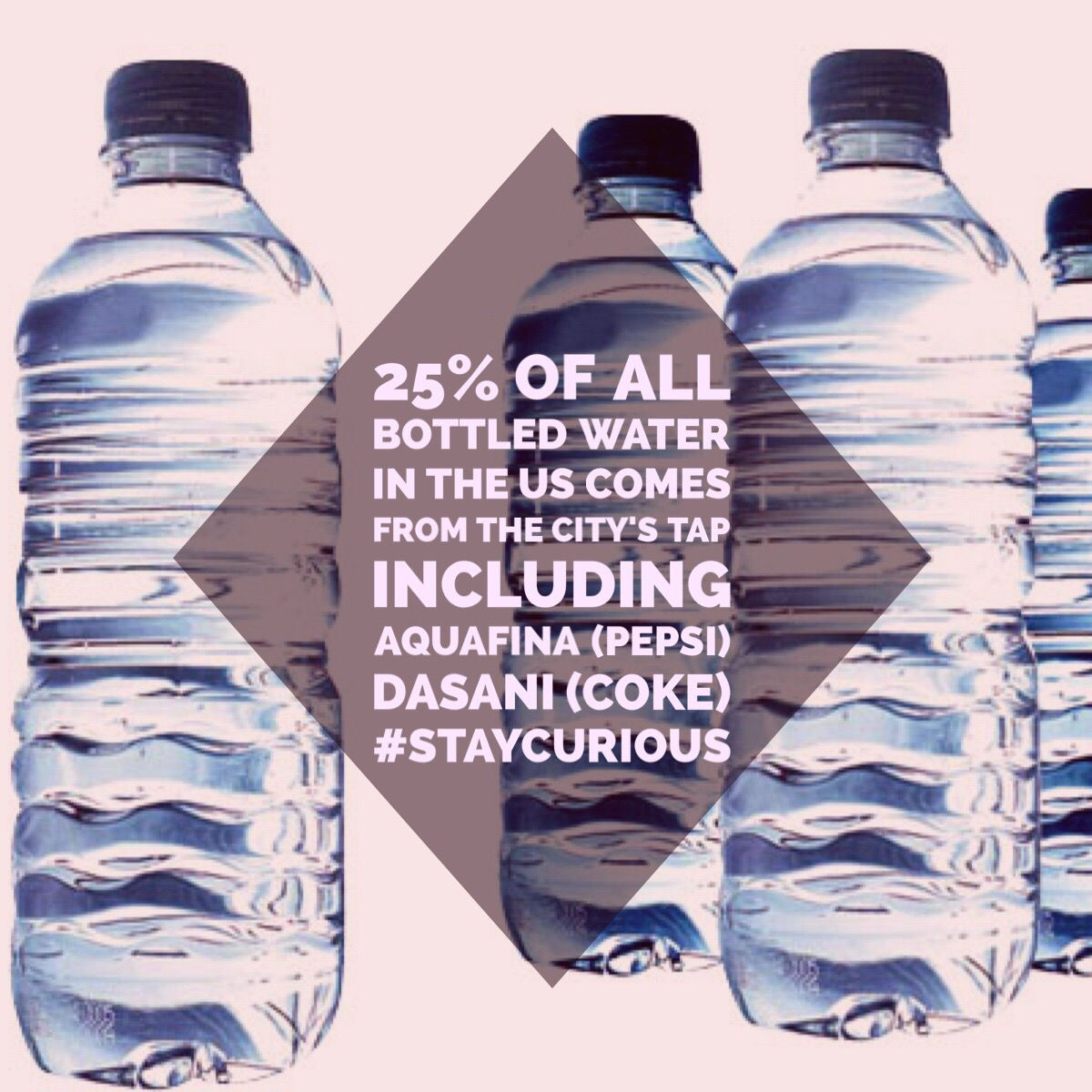 25 Of All Bottled Water In The Us Comes From The Citys Tap