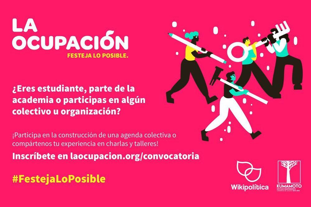 ¡Ayúdanos a difundir esta convocatoria! - Si conoces a alguien que pudiera estar interesado en participar como ponente, compártele esta página e imagen.