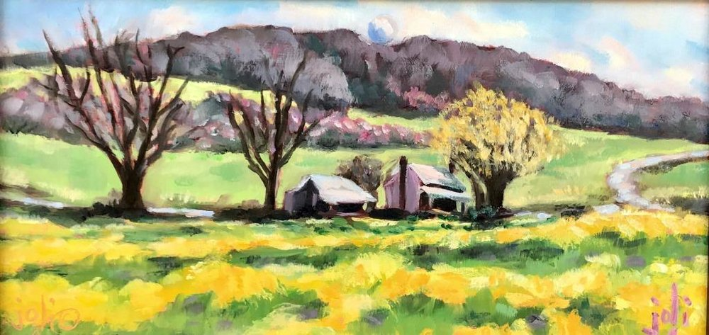 Spring Comes To Storker's Knob