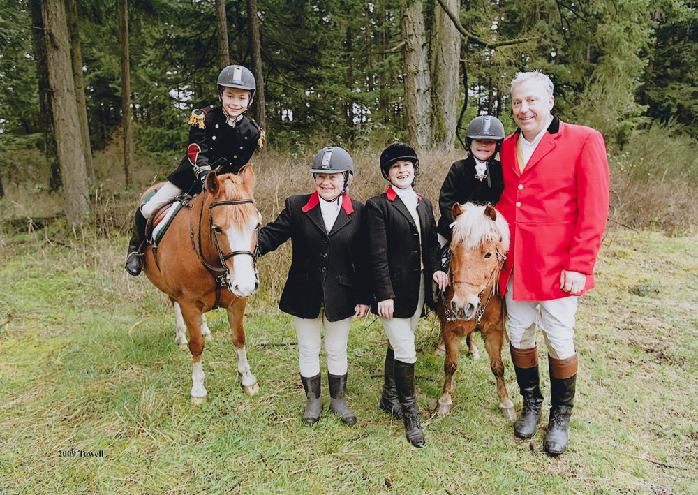 Olsen Family - Wood Brook Hunt Club, 2008