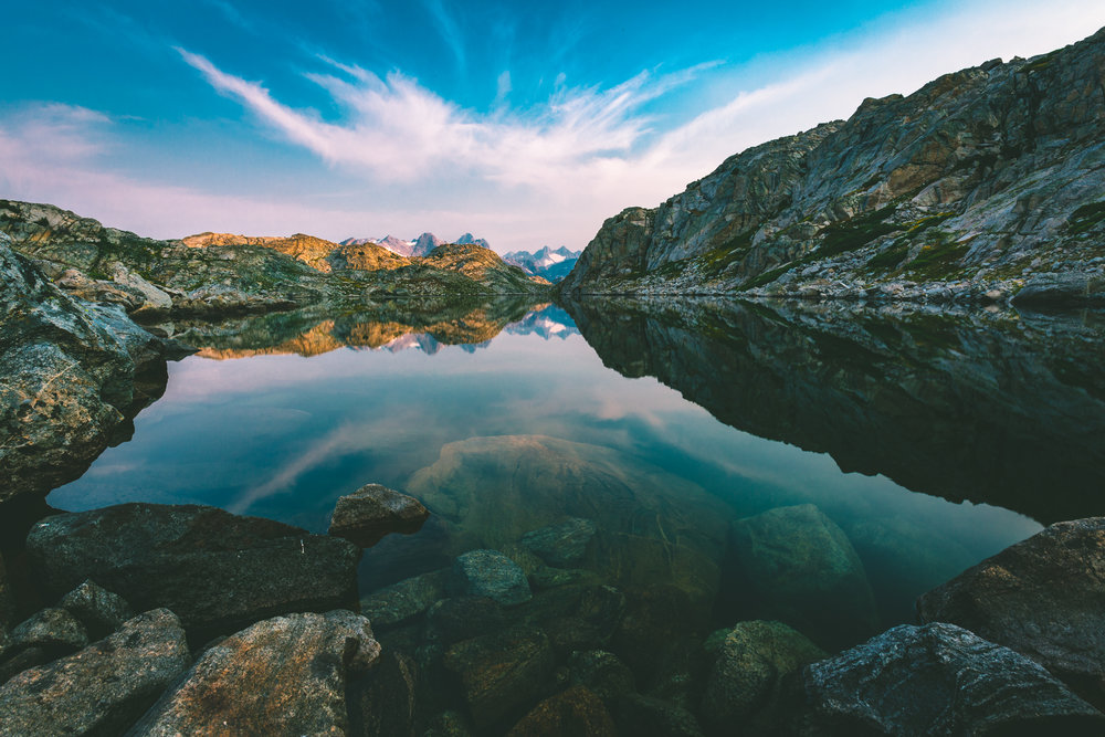 Alpine Lake Sunrise