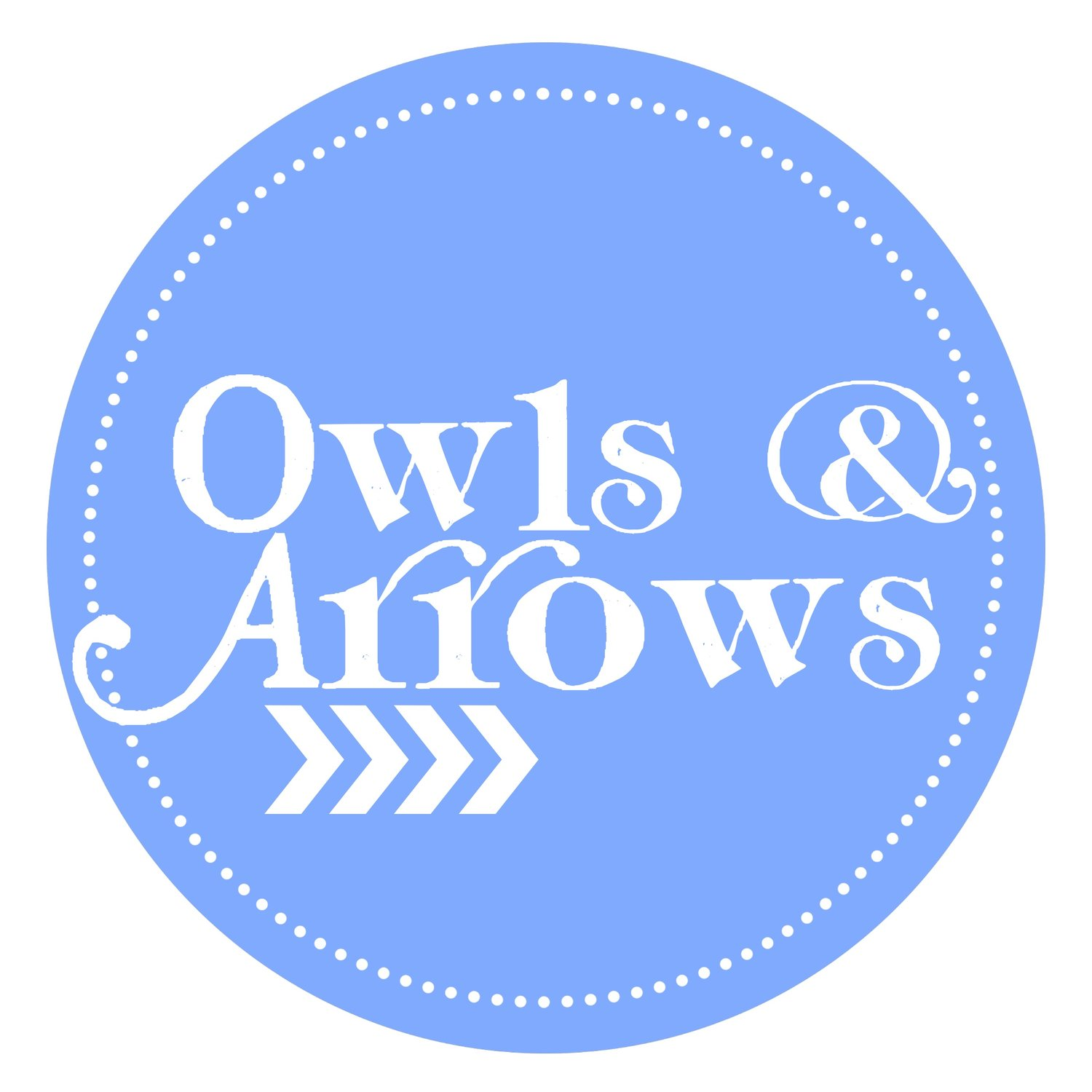 Owls & Arrows by Toni Imsen