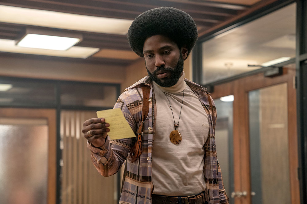 John David Washington in  BlackkKlansman   Focus Features