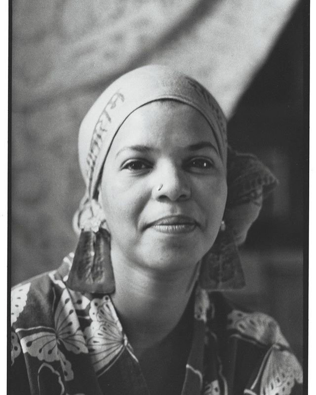 Rest well, Ms. Shange. 📸: Sylvia Plachy