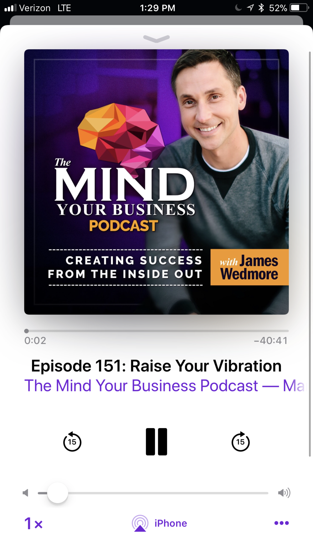 Control Your Mindset: Feel good, be happy, help others - This show does an excellent job of thoroughly discussing the importance of our mindset.  I loved the emphasis on importance of negative emotions and how we can acknowledge and use them to serve us in a positive way.
