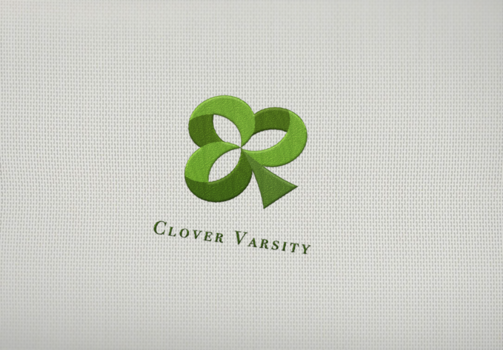 Clover Varsity logo Gray backgroung.png