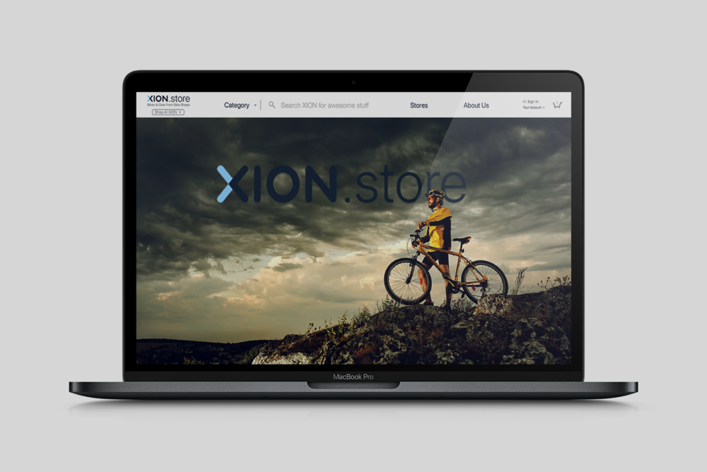 Xion - eCommerce Website