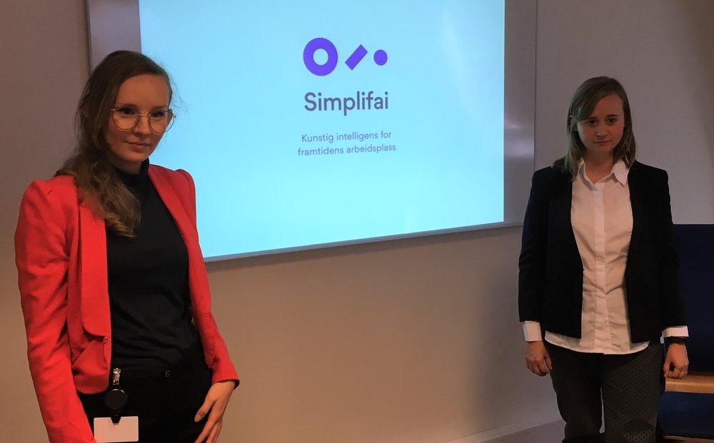 The dreamteam of Oslo, Miriam and Oda!