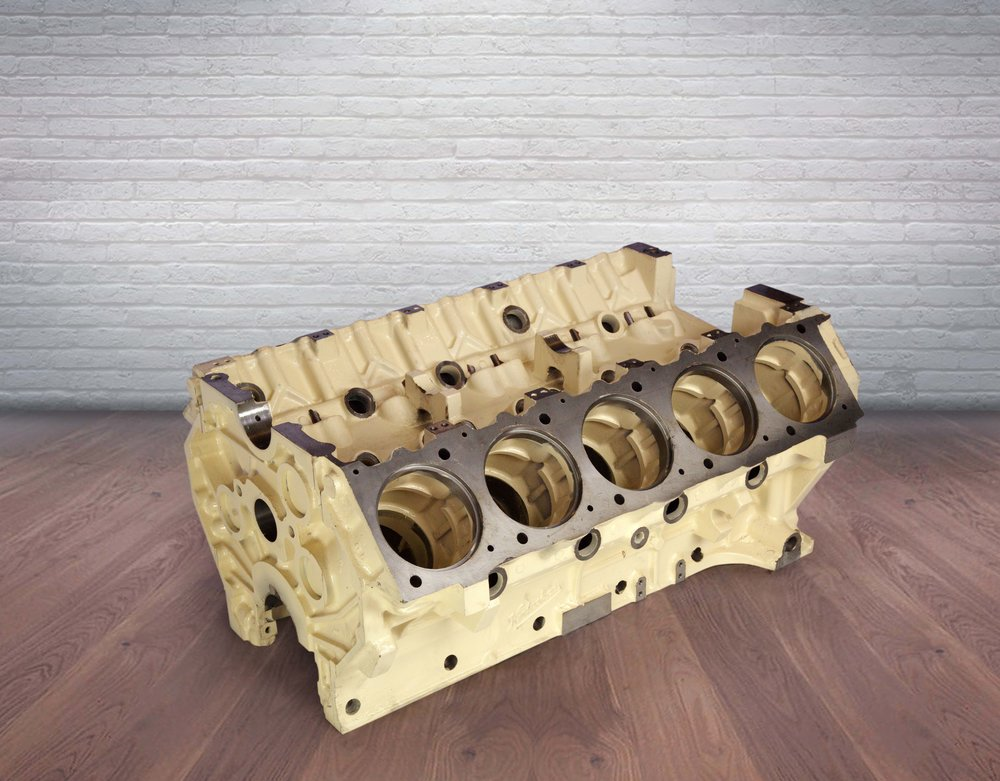 V10 Engine Block     Industrial Engine