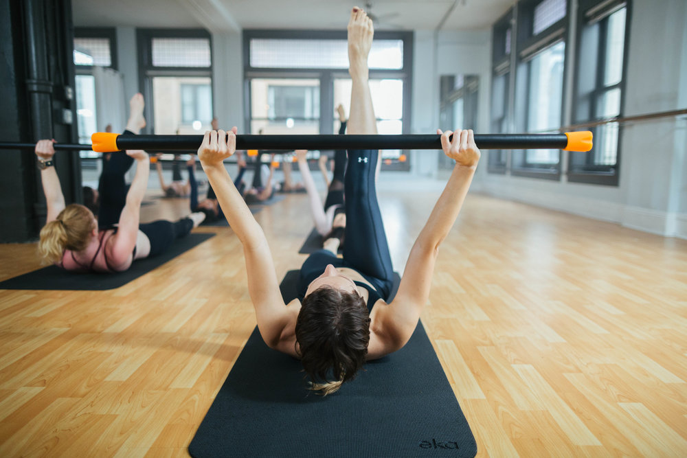 GET BEAUTIFULLY TONED ARMS, LEAN ABS, AND A LIFTED SEAT WITH OUR SIGNATURE WORKOUTS. -