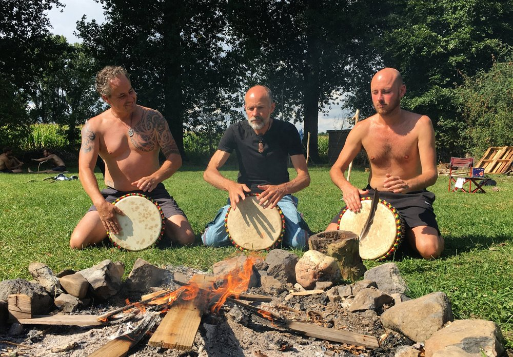 Drum vuur mannenfestival