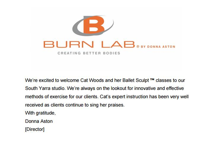 Testimonial from Director of Burn Lab and international trainer, Donna Aston. September 2017.