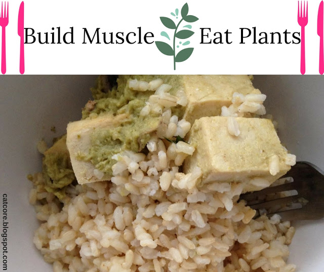 plant based muscle food