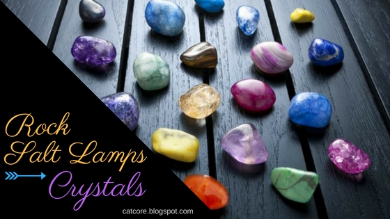 crystals rock salt lamps energy
